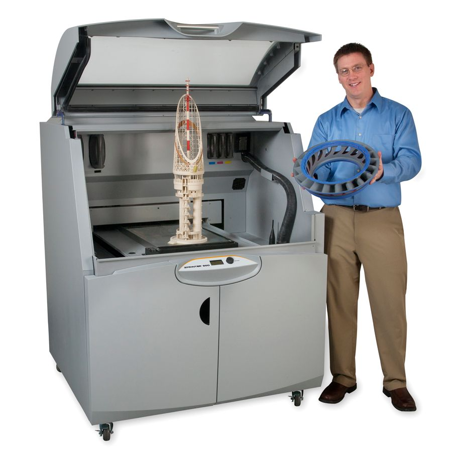 Pic. 6. The professional 3D printer