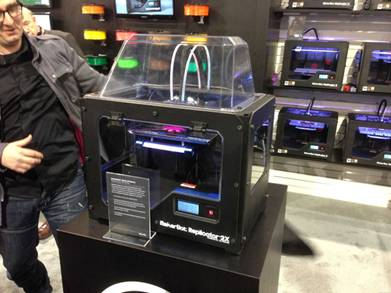 Pic. 2. The contemporary three-dimensional printer MakerBot Replicator 2