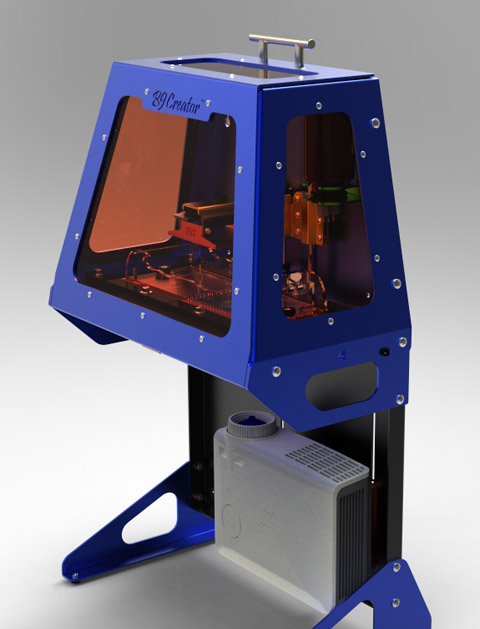 Рис. 4. Профессиональный объемный принтер B9Creator